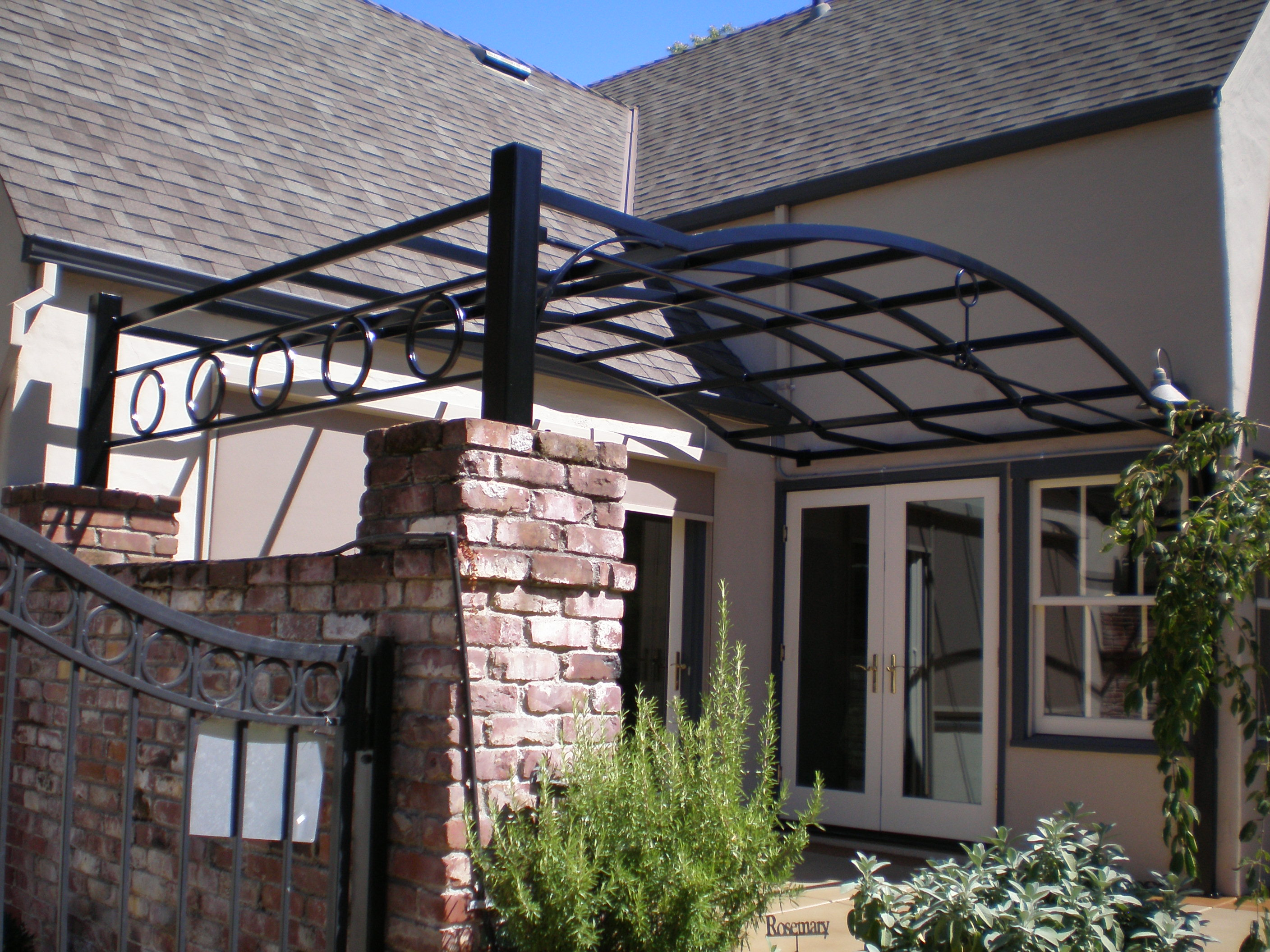 Wrought Iron Patio Cover