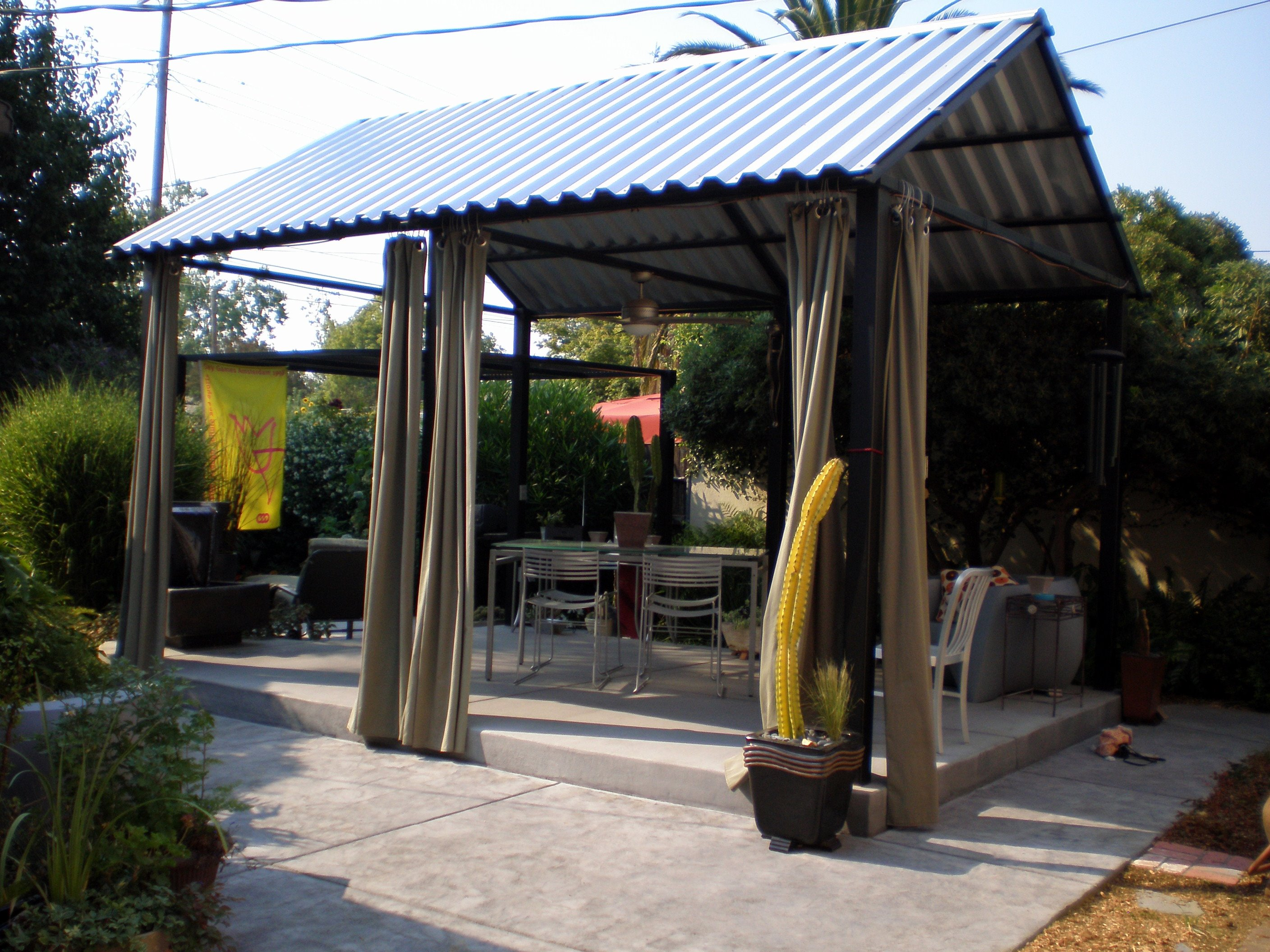 Twisted metal of sacramento steel patio cover solutioingenieria Gallery